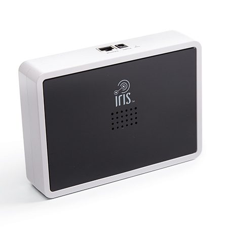 <b>Iris Smart Hub</b></br> <p>Remotely control hundreds of devices and appliances using your computer or the Iris app.</p>
