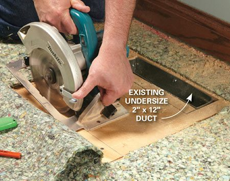 How To Install A Duct Booster Fan The Family Handyman