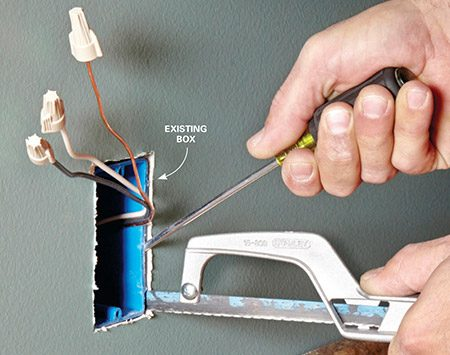 Installing A New Electrical Outlet From An Existing Outlet:  The Family Handymanrh:www2.familyhandyman.com,Design