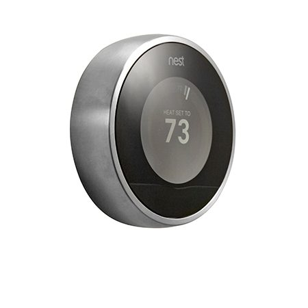 "<b>Nest</b></br> <p>If you have a variable routine, the <a href=""http://www.amazon.com/gp/product/B009GDHYPQ/ref=as_li_tl?ie=UTF8&camp=1789&creative=390957&creativeASIN=B009GDHYPQ&linkCode=as2&tag=familhandy-20&linkId=N3O5Z3DDI55YSDNQ"">Nest learning thermostat</a> is a good choice. However, it must be mounted in a high-traffic area so it can detect your movement. If your present thermostat is in a rarely used dining room or formal living room, you'll have to move the wiring.</p>"