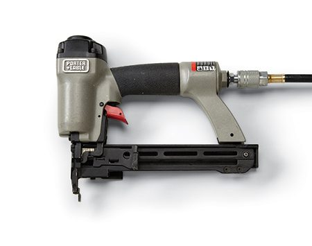 <p><b>Pneumatic Stapler:</b></p>   <p>If you're going to be stapling for hours on end, invest in a pneumatic stapler. These drive the staples flush with the pull of a finger and allow you to be extremely accurate in the placement of your staples. Some tools also drive brad nails up to 1-1/4 in.</p>  <p>Cost: $40 to $150 (plus air compressor)</p>