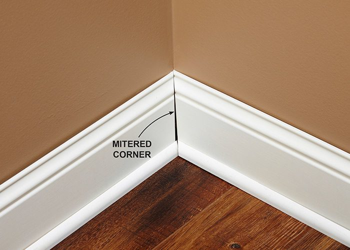 <p><b>Why not miter?</b></p> <p>Cutting both pieces of trim at 45 degrees makes sense in theory. But in the real world, two walls rarely form a perfect 90-degree angle. So getting two miters to meet tight and right is challenging or impossible. And even if you get it tight, the joint will probably open as wood naturally shrinks or swells. Coped corners take these elements out of play.</p>