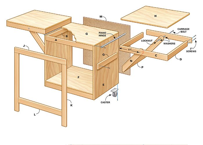 Convertible miter saw station plans the family handyman for Cheap energy plans