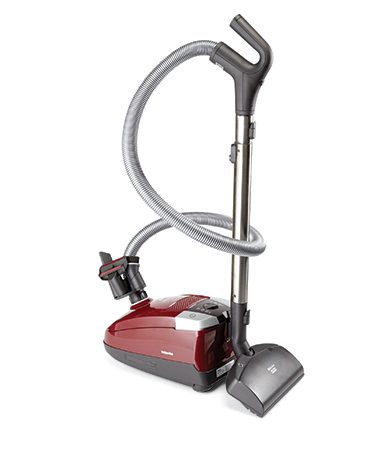 <b>Mostly bare floors, drapes and upholstery?</b></br> Canister vacuums work well for these items, and they're also easier to handle on stairs. Most canisters are quieter and lighter than uprights because you're mostly moving the hose and power head (a rotating brush), not the entire machine. While canisters tend to be more flexible than an upright, they're bulky, and the hose and wand can make them harder to store.