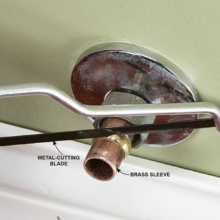 How To Replace A Shutoff Valve The Family Handyman