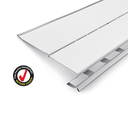 Surface-tension guards are just plain reliable if installed correctly. They're usually installed by pros, but DIYers can find them online or at local siding/roofing suppliers.