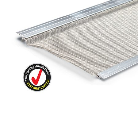 <p>Fine-mesh products need minimal maintenance and allow almost nothing in your gutters. We like the quality, flexibility and price of this EasyOn product.</p>