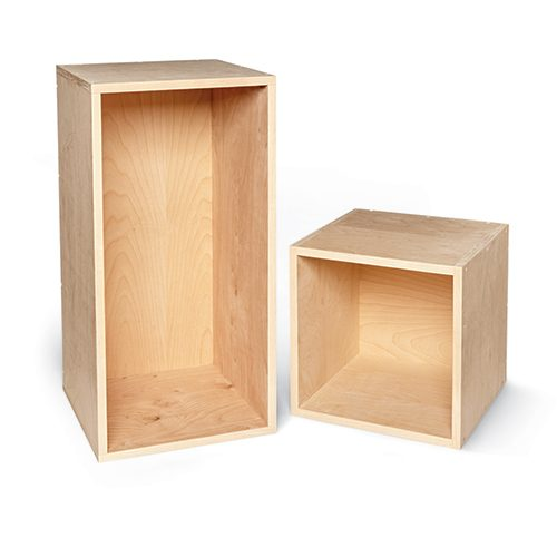 <b>It's just a bunch of boxes</b></br> <p>A complicated puzzle? Nope. This wall unit is just a collection of plywood boxes. Building all those boxes is time-consuming and fussy—but not difficult. If you have the patience to build precise boxes, you can do it!</p>