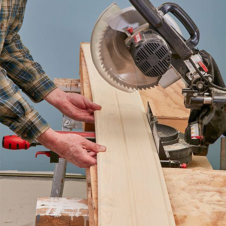 <b>Cut problem boards shorter</b></br> <p>Don't fight warped, twisted or bowed boards; cut them shorter. In fact, it's OK to install boards that are only a couple of feet long. They'll look great, and you won't waste any expensive wood.</p>