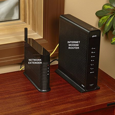 <b>Network Extenders</b></br> <p>A network extender plugs into your home's Internet modem and acts like a mini cell phone tower. When you make a call, the extender receives the signal from your phone and routes it back to your cell phone provider via the Internet.</p>  <p>Network extenders are provider-specific (Verizon, AT&T, etc.) and cost about $250. However, you might qualify for a free extender if you meet certain criteria. Call your mobile provider's tech support line and explain your situation. Make sure your provider reviews your dropped-call records and see if it'll send a technician out to check the signal strength outside your home. If the signal's weak, you might be offered a free network extender. If it's strong, but the signal inside your home is weak (or nonexistent), you'll probably have to pay for a network extender yourself.</p>  <p>Depending on your network provider, you might also experience slower data speeds, so use Wi-Fi for email and surfing the web. For text messages, use a text-messaging app that sends your texts via the Internet instead of your cell phone's data feature.</p>