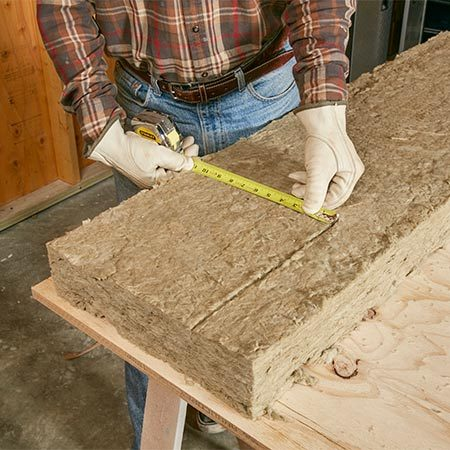 Mineral wool insulation is making a comeback here 39 s why for Roxul mineral wool r value