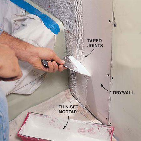 Cement Board Ceramic Tile The Family Handyman