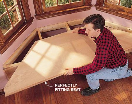 <b>Photo 5: Install the piece</b></br> <p>Set the workpiece in place and congratulate yourself on a job well done. Now go build a boat.</p>