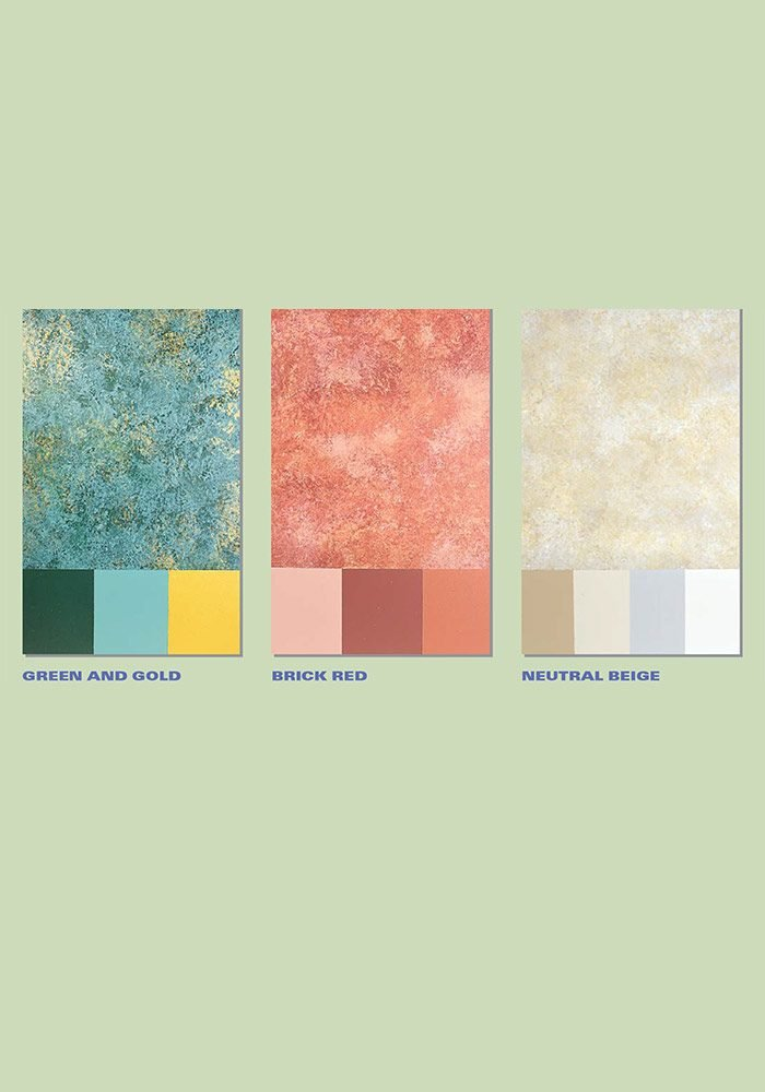Sample paint combinations