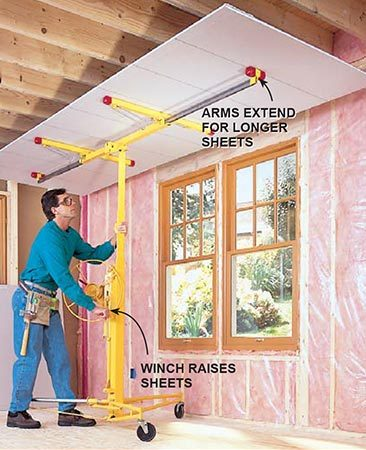 <p>Drywall lift</p>