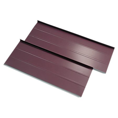 <b>Standing seam steel</b><br/><p>Material cost per 100 sq. ft.: $300 to $550<br /> Labor cost per 100 sq. ft.: $400 to $1,200<br /> Weight per 100 sq. ft.: 140 to 160 lbs.<br /> Wind resistance: 80 mph<br /> Resistance to hail damage: Good<br /> Over an asphalt roof? No<br /> Do it yourself? No</p>