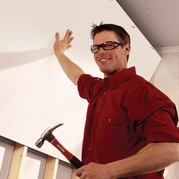 <b>Add new studs beside the old studs</b></br> <p>Old walls are  often crooked and out of plumb. One good   method to fix the  problem is to add new studs alongside the   old ones, making  sure the new ones are plumb and aligned.   You'll be glad you  did when it comes time to install cabinets   and trim. </p>