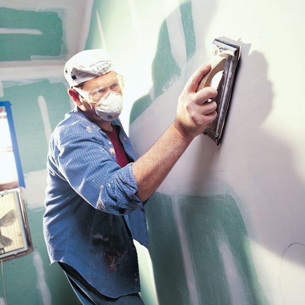 <b>Confine the dust no matter what</b></br> <p>No matter  how small your drywall job,    take the time  to carefully   confine the  dust. While the actual sanding   might only  take you about 10 minutes, cleaning   the fine  layer of dust from everything   in sight  will take you the rest of the   afternoon. </p>