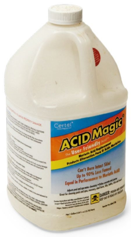 How to remove rust with Acid Magic