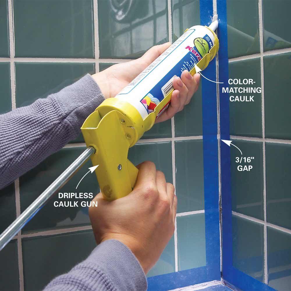 Tips For Caulking The Family Handyman