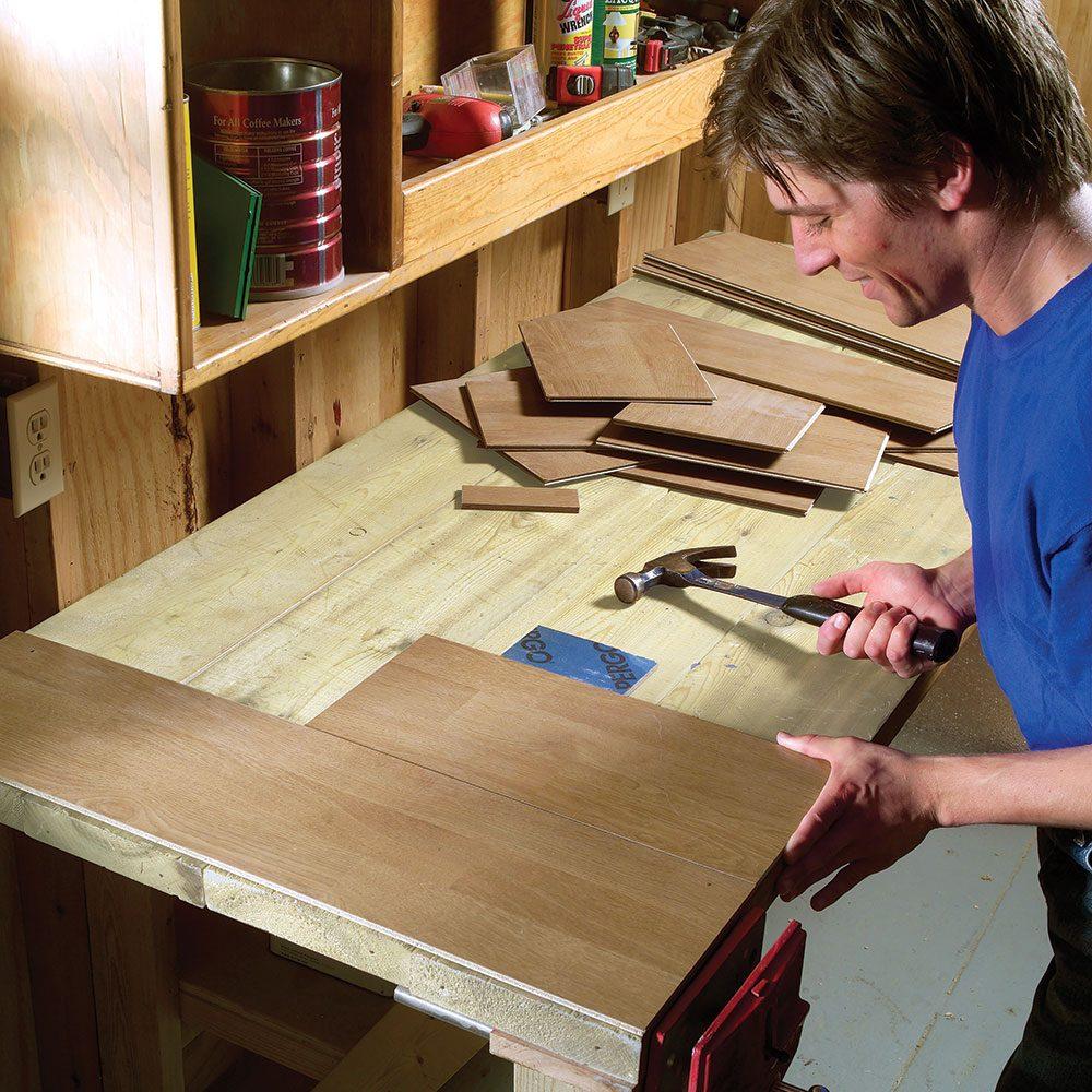 Laminate Flooring Bench Top