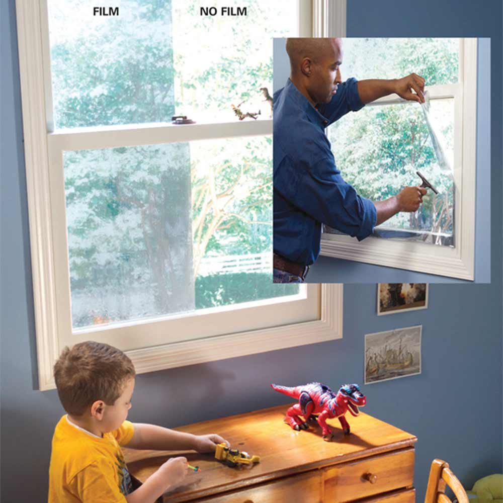 Heat-Reducing Window Film