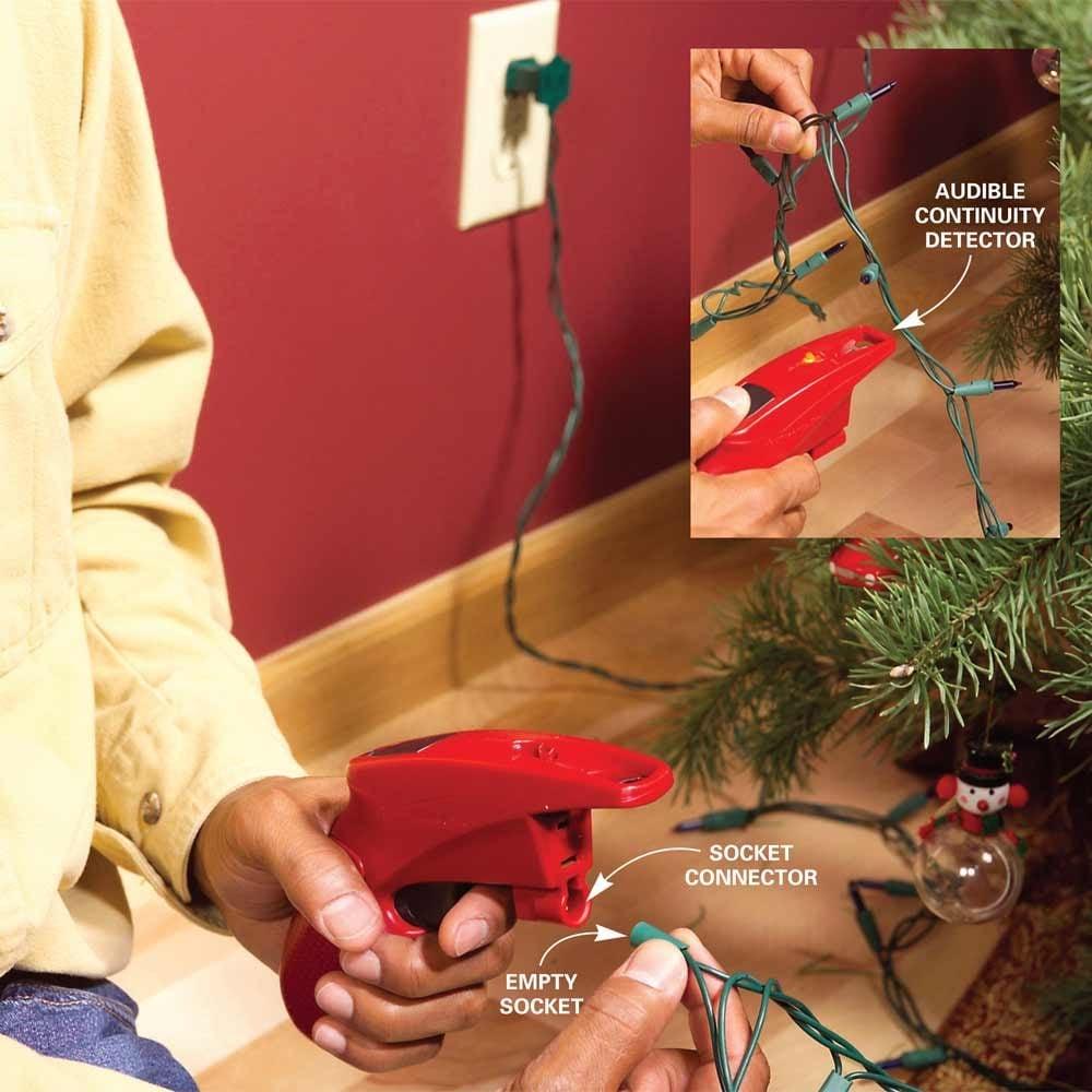 Use a Christmas Light Tester to Check Holiday Lights