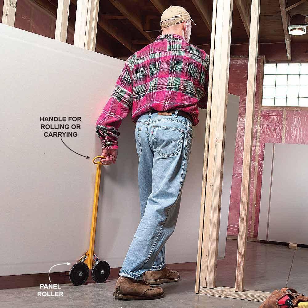 Panel Rollers Make Big Jobs Small