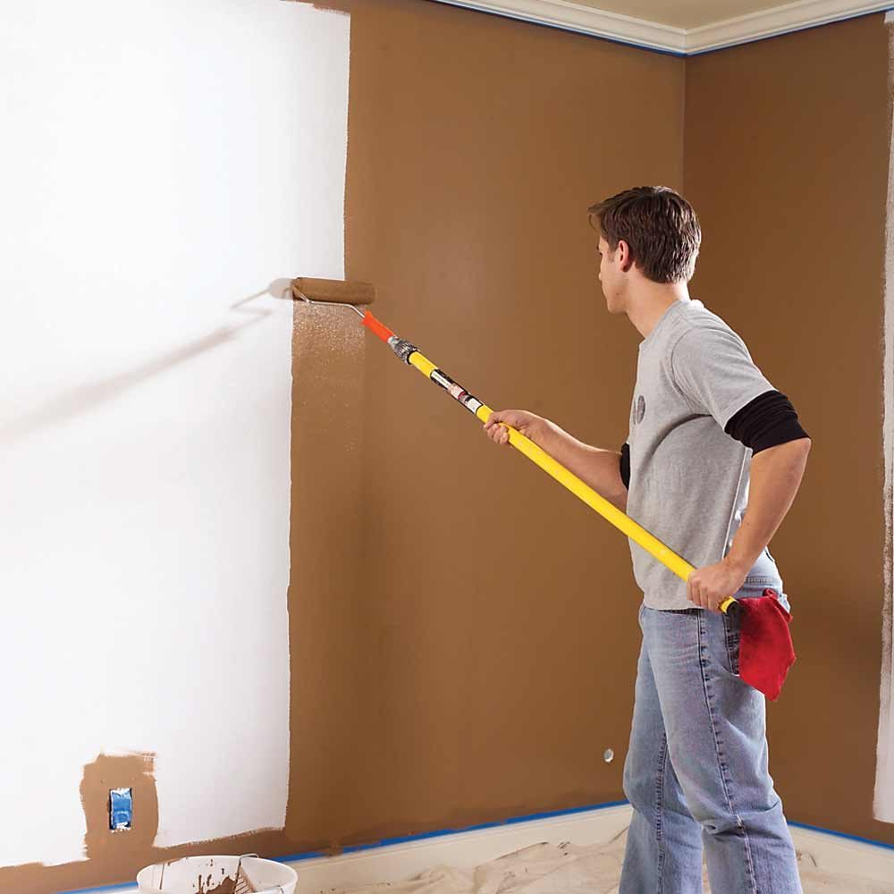 Painting Wall Without Getting Ceiling