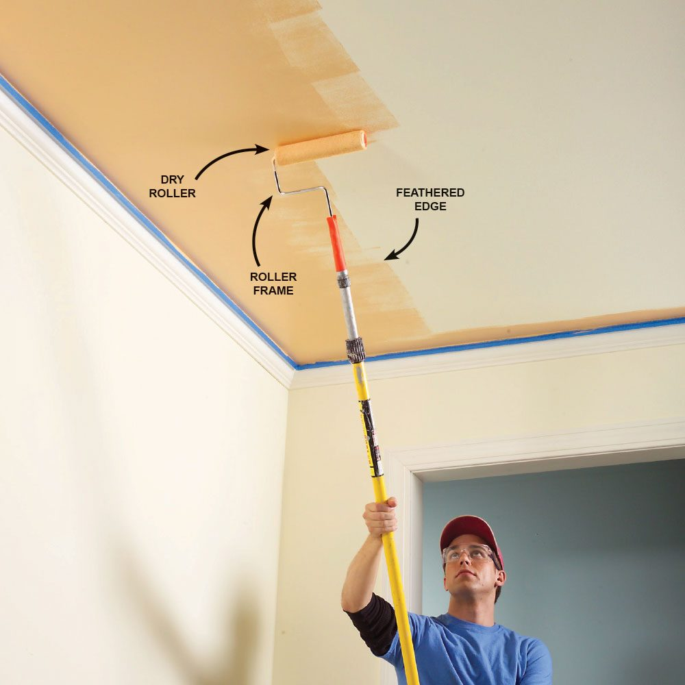 Feather Out the Paint Where You Can't Keep a Wet Edge