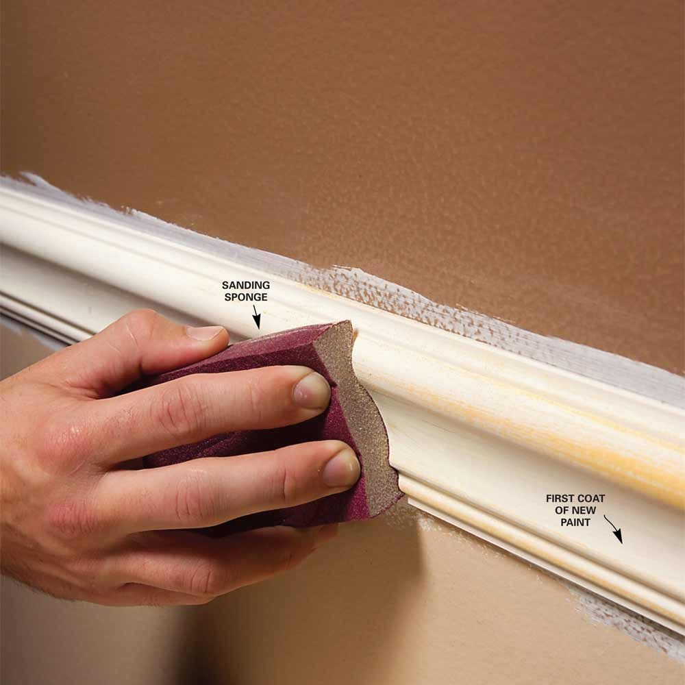 Remove Peeling Paint Bathroom Wall: Trim Painting Tips For Smooth And Perfect Results