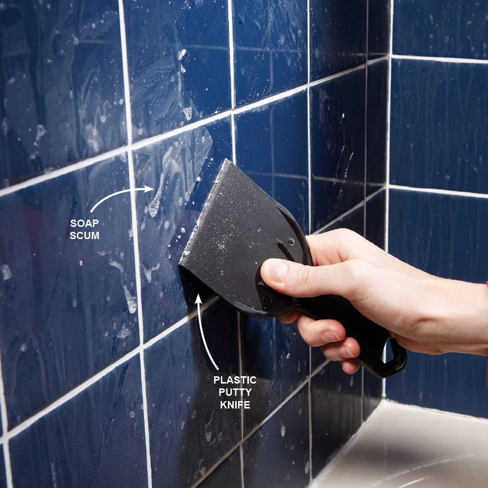 Remove Bathroom Soap Scum
