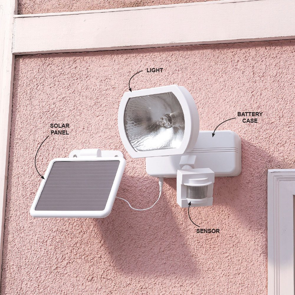 Put Motion Detector Lighting Anywhere