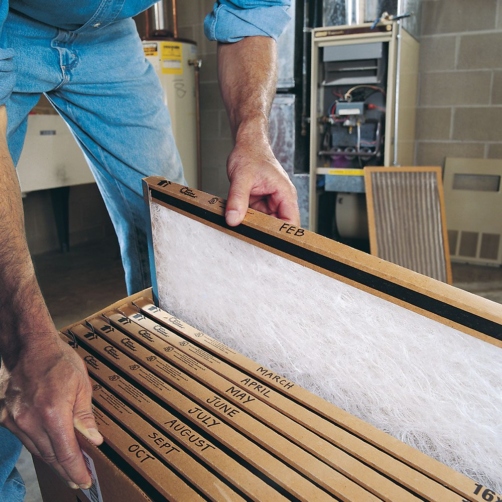 Change Furnace Filter and Save up to $60 a Year