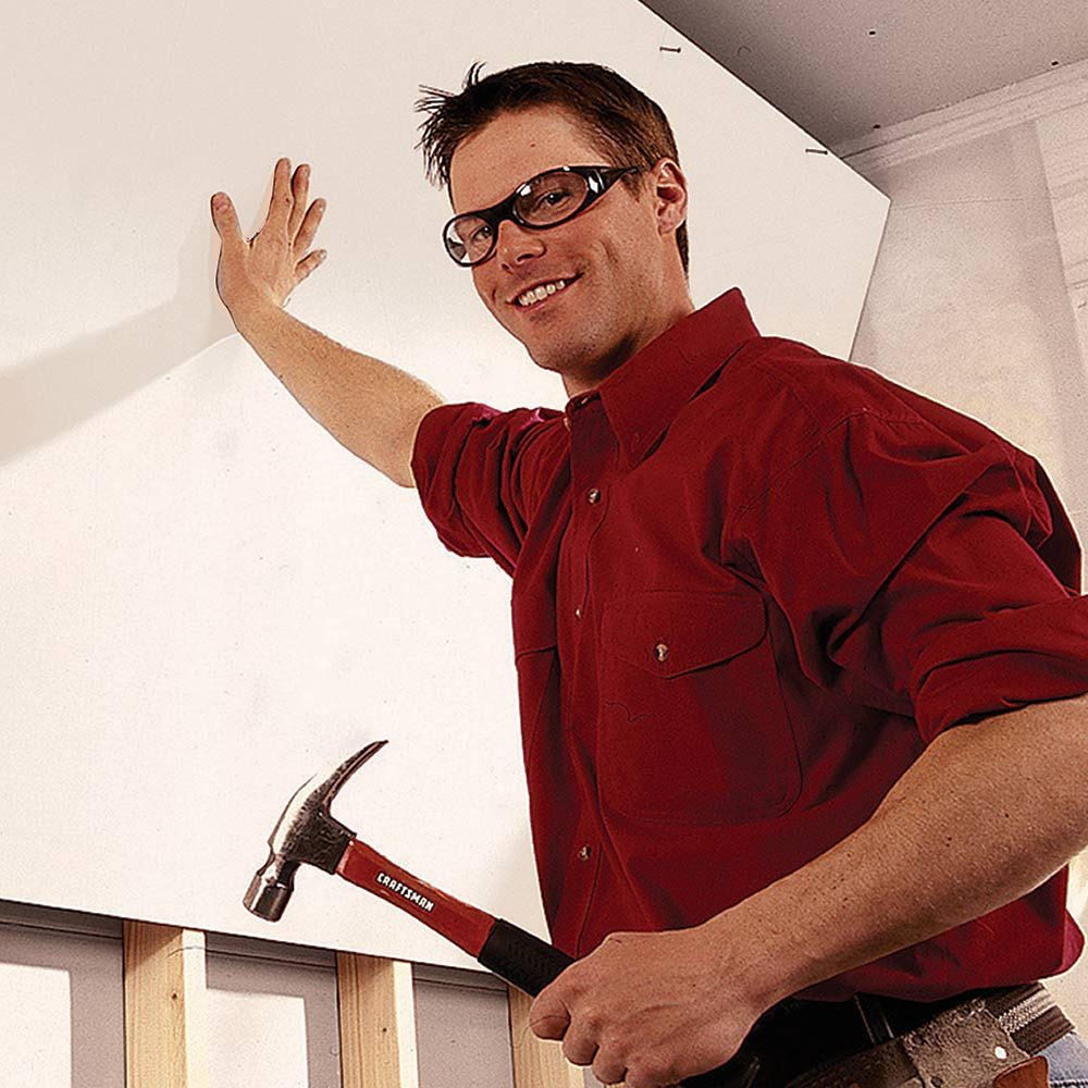 Start with level, plumb and flat walls