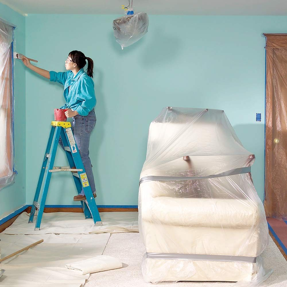 Messy Walls But I Like It: Paint A Room Without Making A Mess!