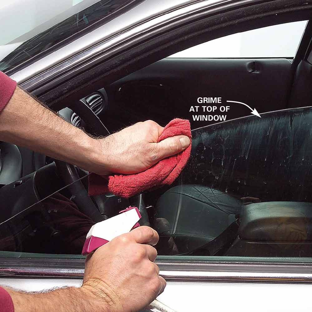 Wash the Windows, Including the Top Edges