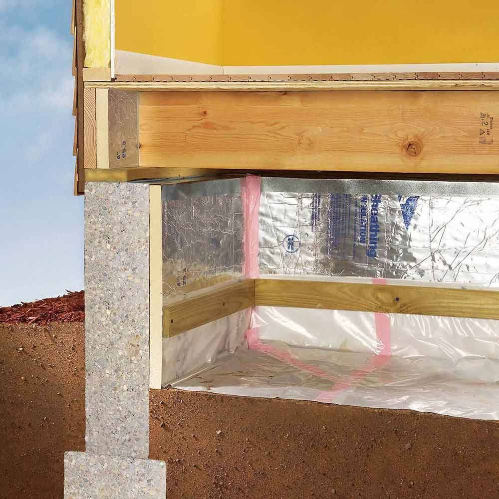 Inspect crawlspaces and the attic.