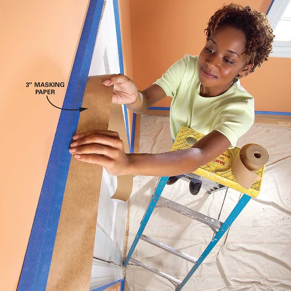 Professional Painting Tips: Tips For How To Use Painters Tape