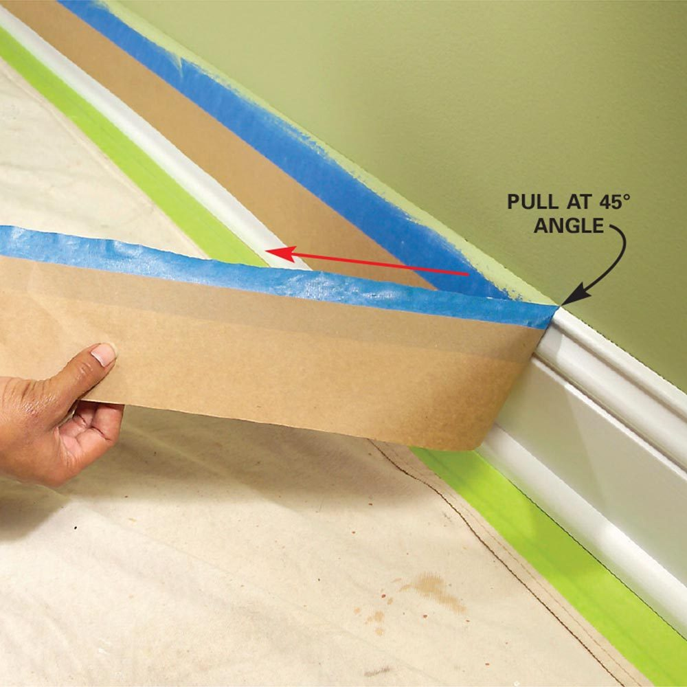 How to Remove Painter's Tape