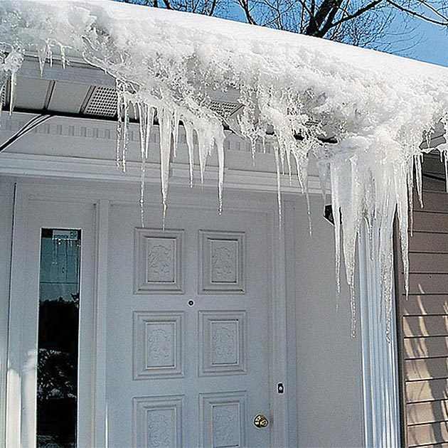 The best way to stop the nightmare of ice dams forming on your roof is with