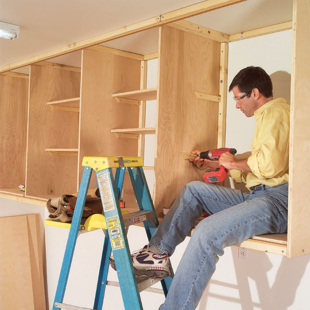 Build Big Cabinets in Place