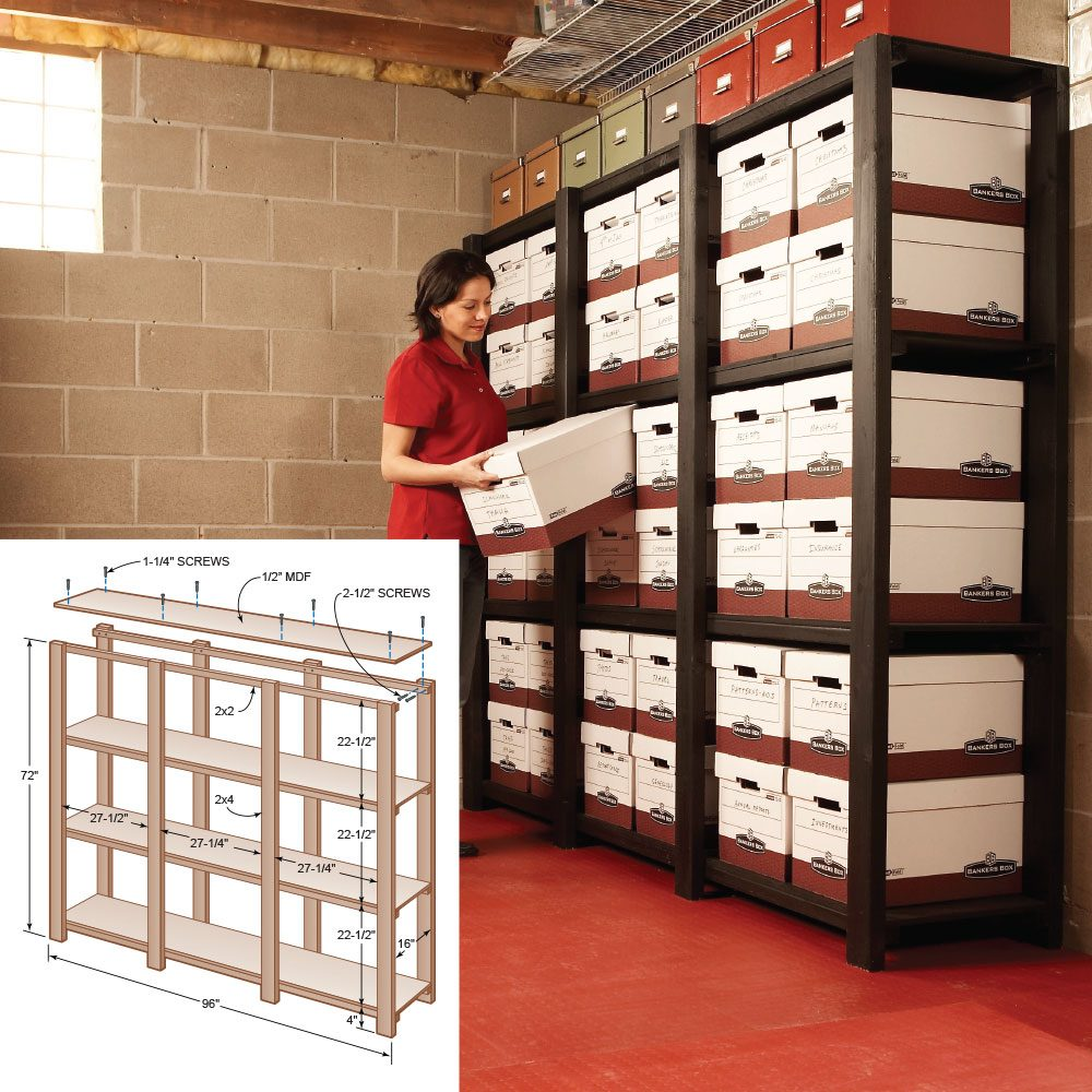 Heavy-Duty Utility Shelves