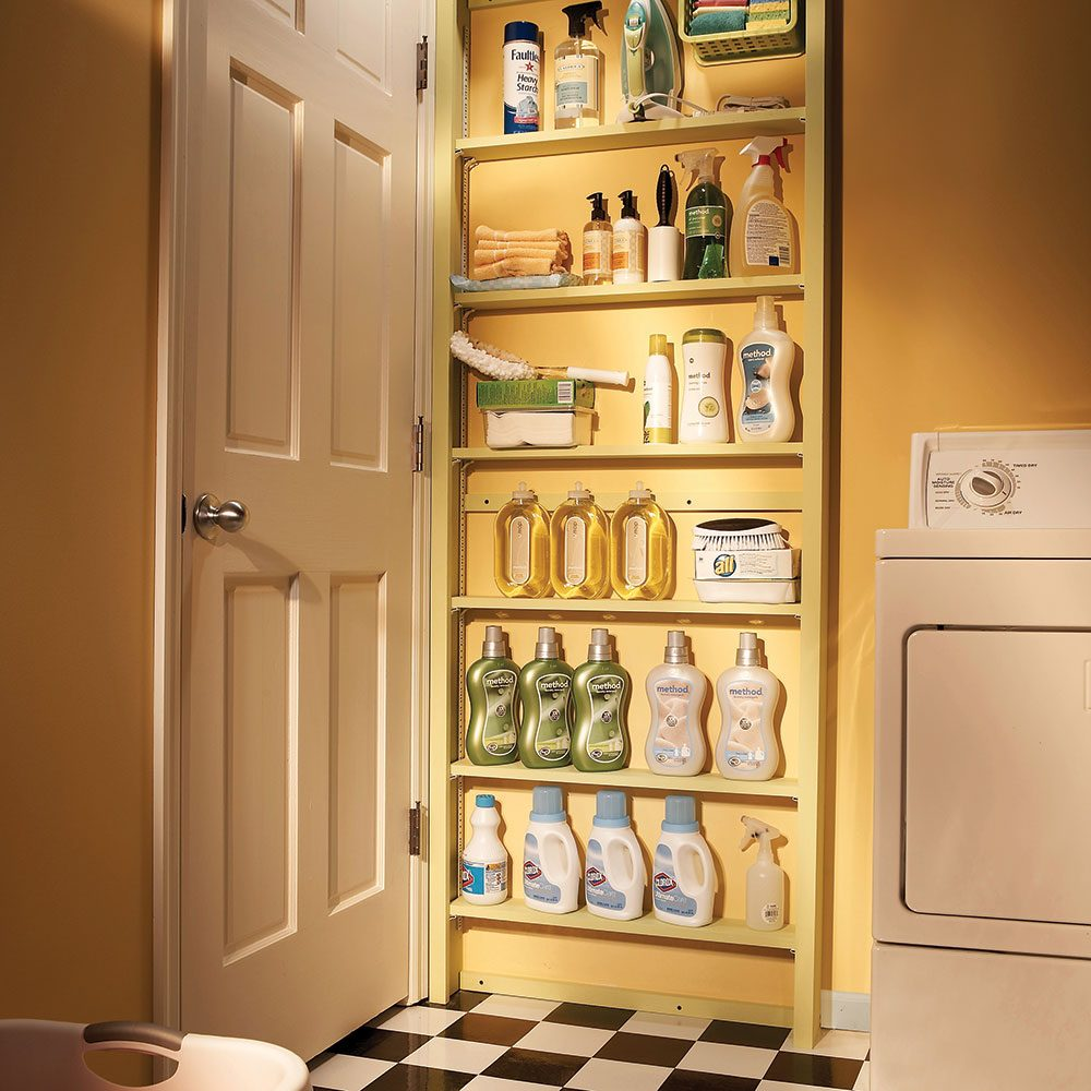 20 small space laundry room organization tips the family handyman - Organize small space property ...