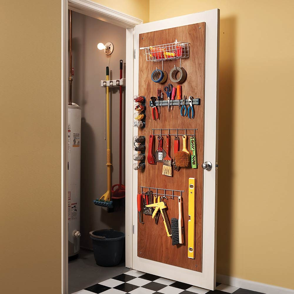 18 Inspiring Inside Cabinet Door Storage Ideas The Family Handyman