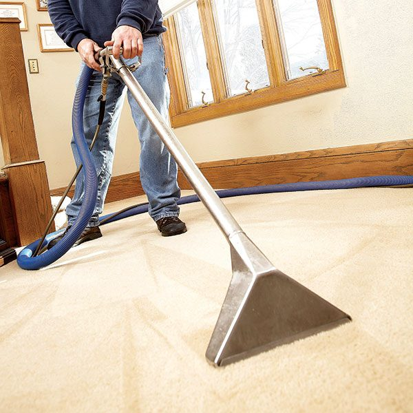 House cleaning tips the family handyman for Cleaning stained concrete floors steam mop