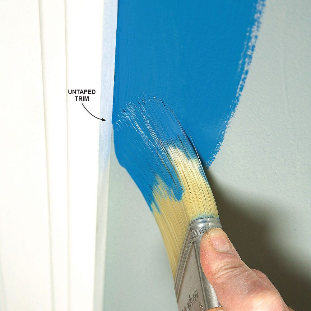 How to paint a room fast the family handyman - Supplies needed to paint a room ...