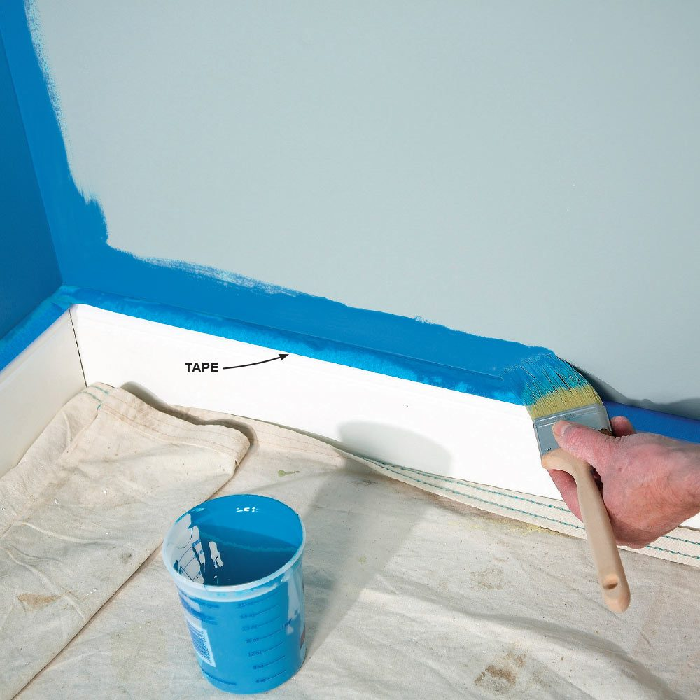 Family Handyman How To Paint A Room Fast
