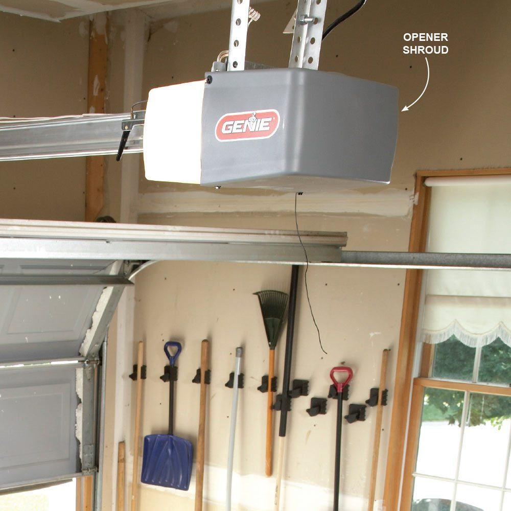 Garage Door Opener Shroud