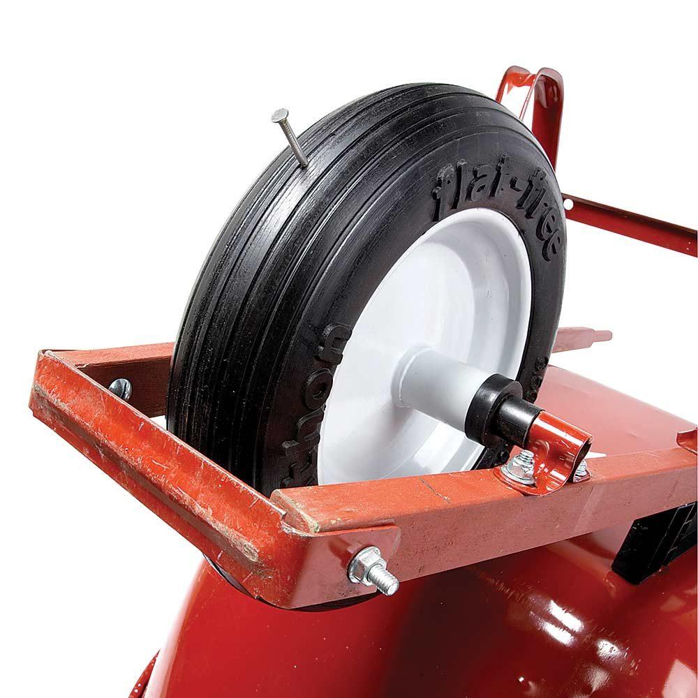 Flat-Proof Wheelbarrow Tire
